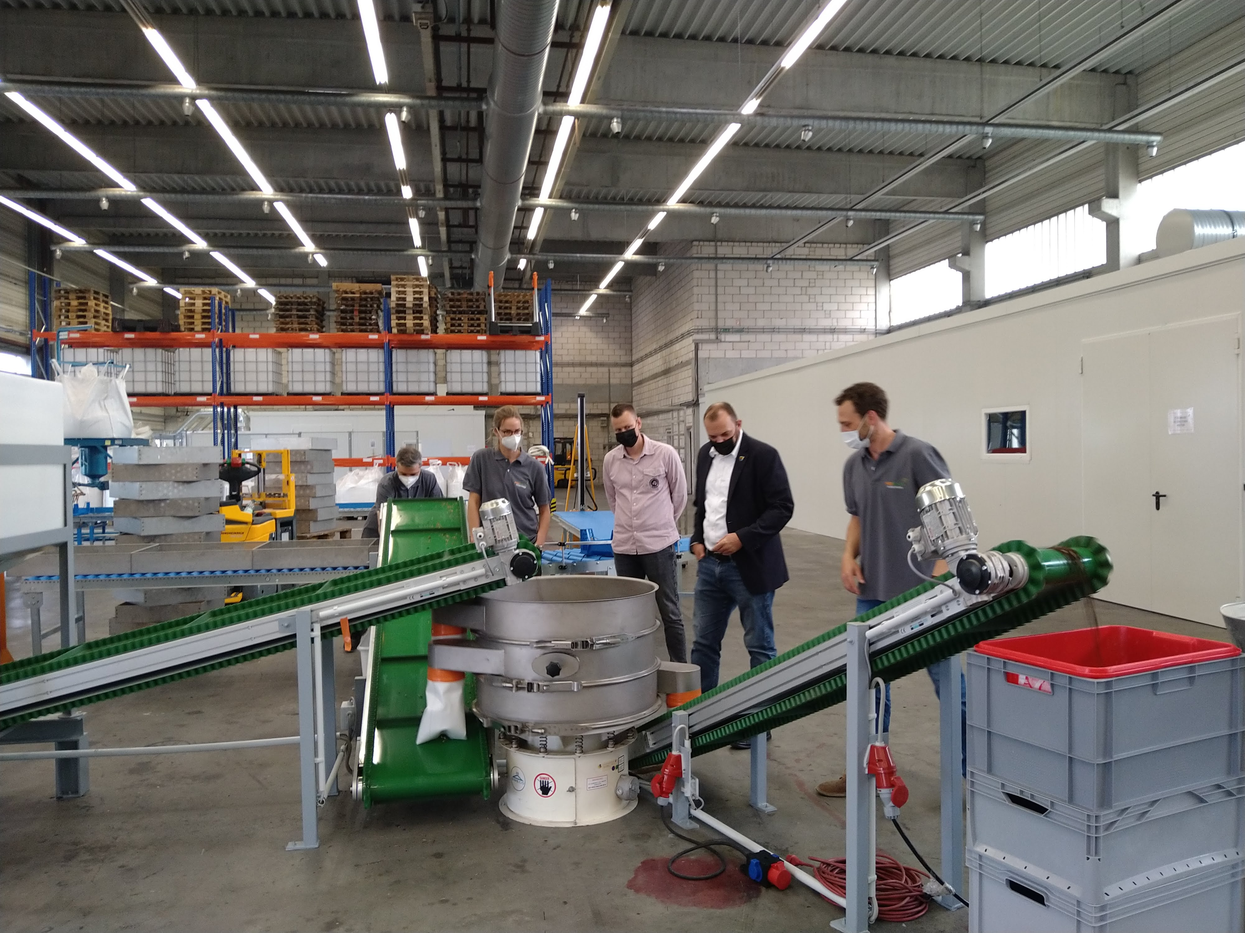 Wirtschaftsförderung in Pfungstadt –SEG und Bürgermeister zu Besuch bei der PROBENDA GmbH